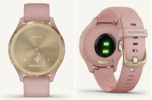 garmin horloge roze