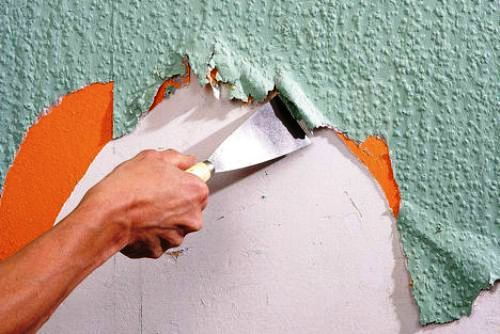 Как убрать со стены моющиеся обои – можно ли удалить ...