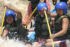 White Water Rafting in Padas River
