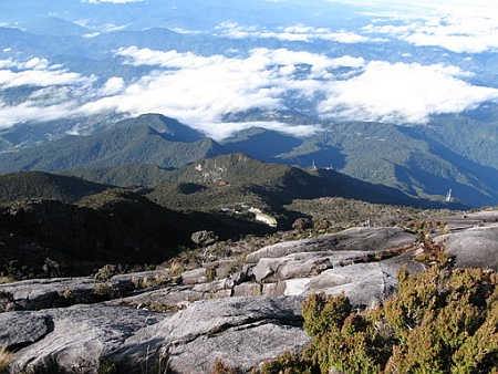 Mount Kinabalu -  A view from above
