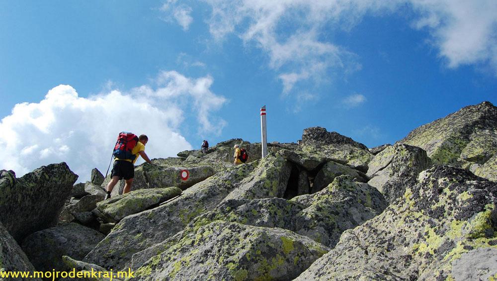 5. Камењар – Врв Пелистер 2601 м.н.в