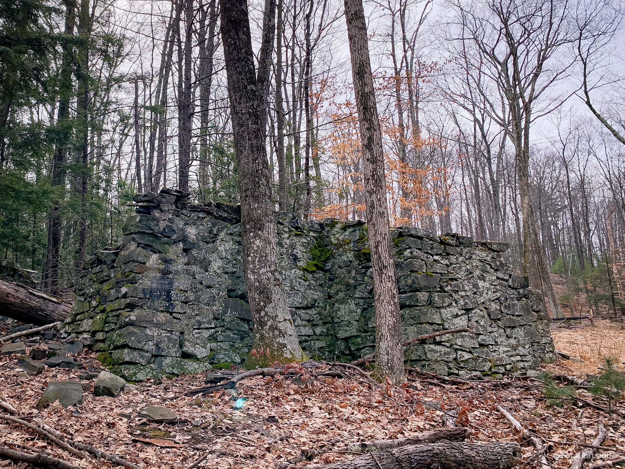stone building ruins