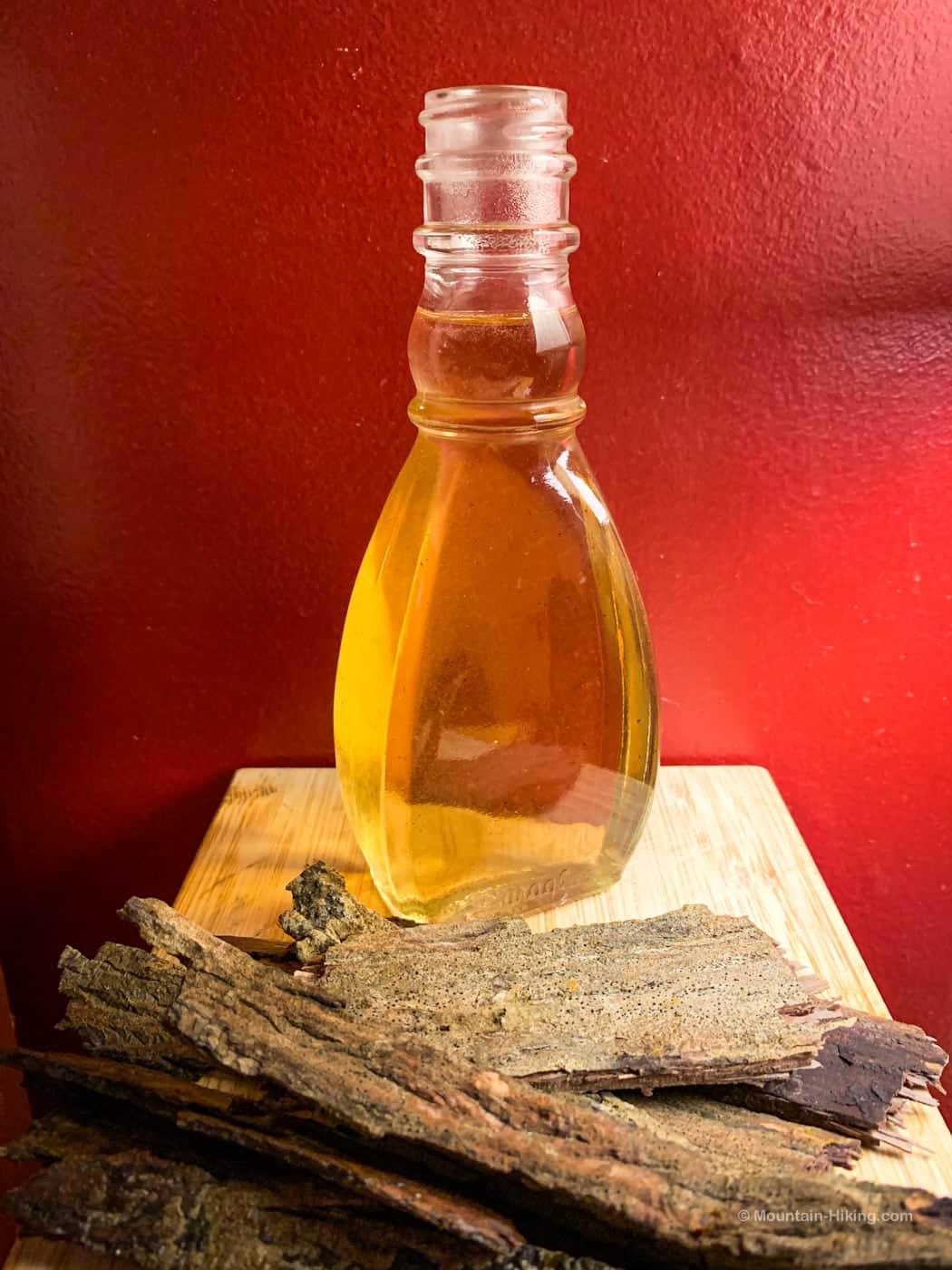 bottled shagbark hickory syrup
