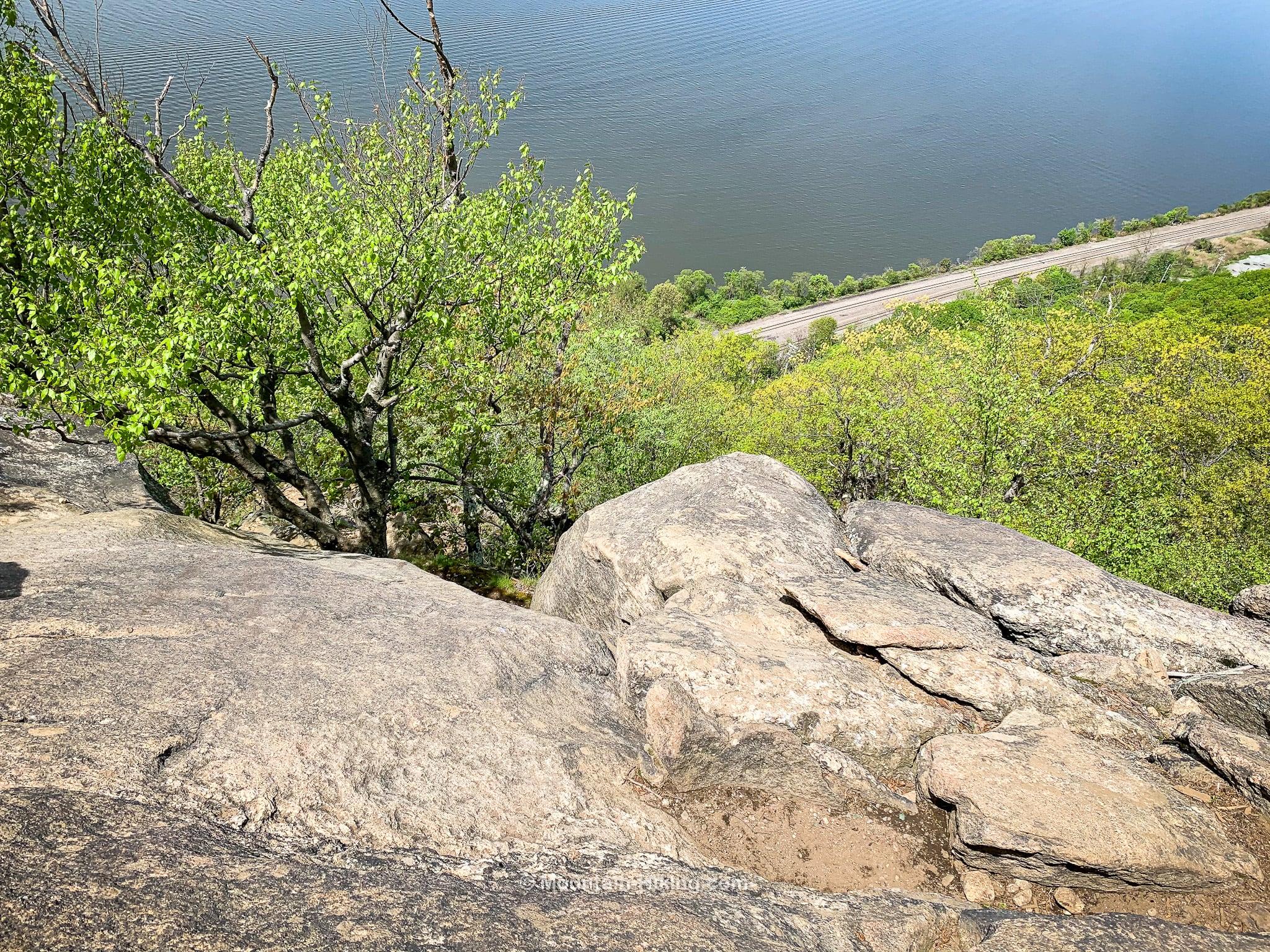 Breakneck Ridge, the super sketchy bit