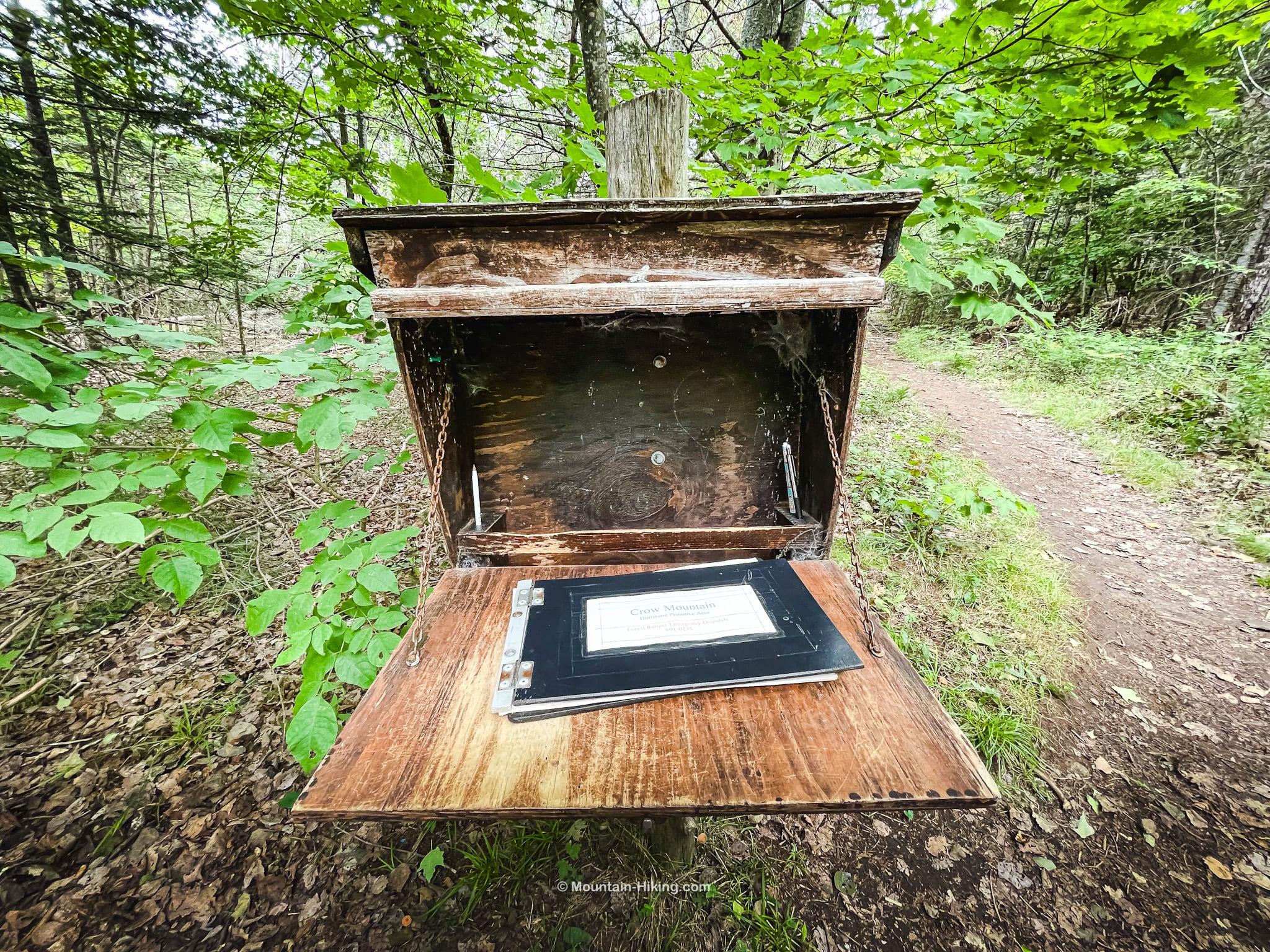 big crow trail register