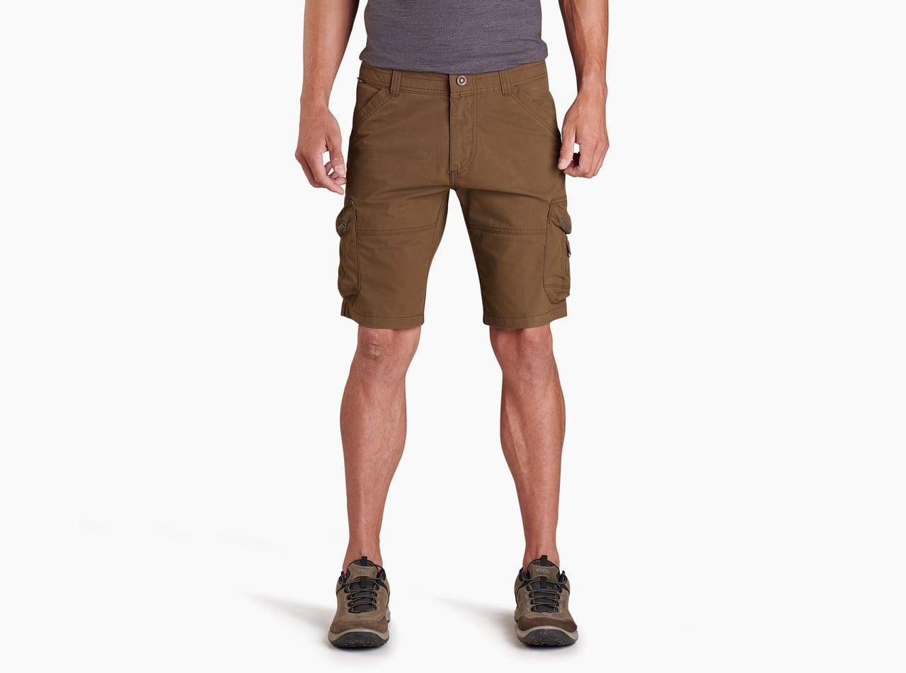 brown hiking shorts