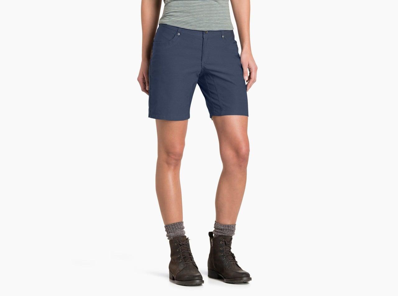 blue hiking shorts for women