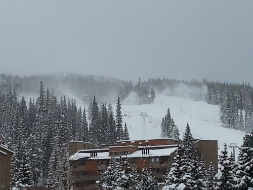 Copper Mountain in November