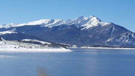 Peak One over Lake Dillon