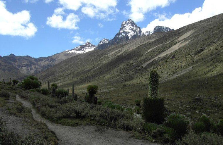Mount Kenya - Africa's second highest mountain