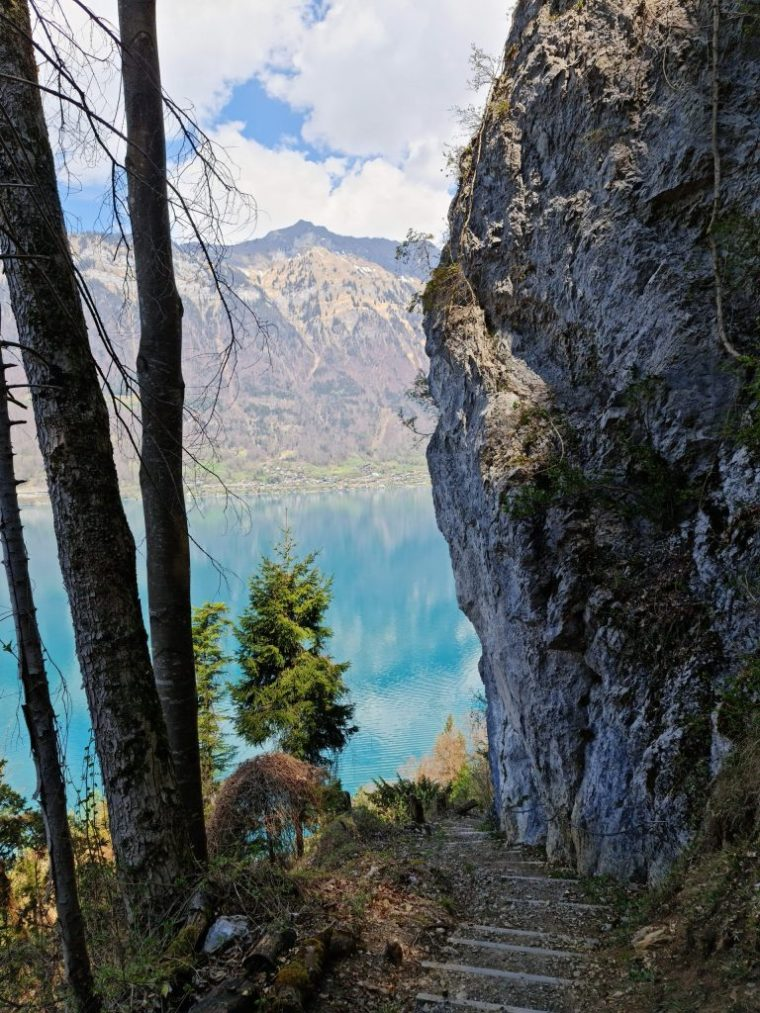 Brienzersee - view from the three waterfalls trail