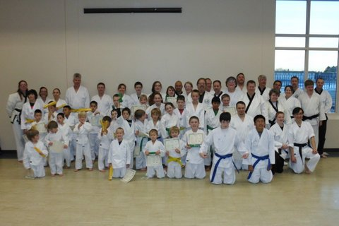 December 2013 Testing for Mountain Academy of Martial Arts