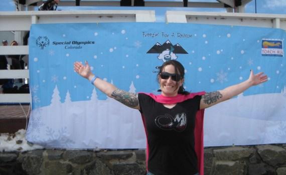 Melissa Dafni Barrow Polar plunge 2013