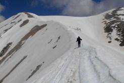1° Portone, the ridge between Monte Focalone and Cima Polilio