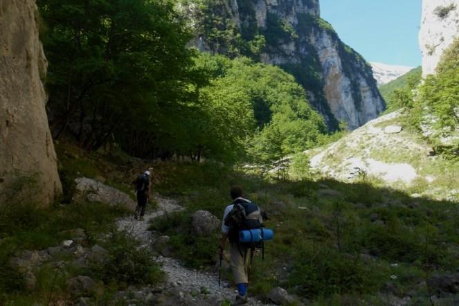 Approach - Vallone di S. Spirito
