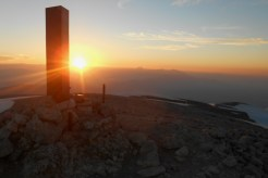 Sunset on Monte Amaro (2793m)
