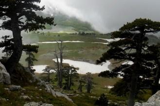 A hole in the clouds, Piani di Pollino (below)