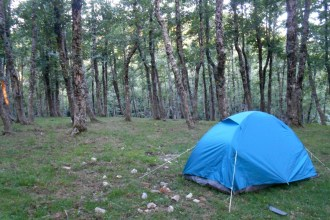 Our little base camp