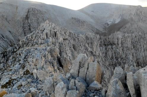 The southwest ridge