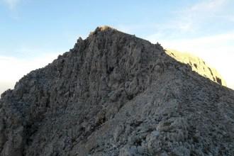 The summit at sunset