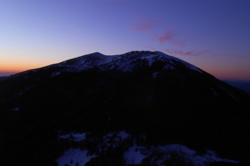 Serra del Prete (short after sunset)