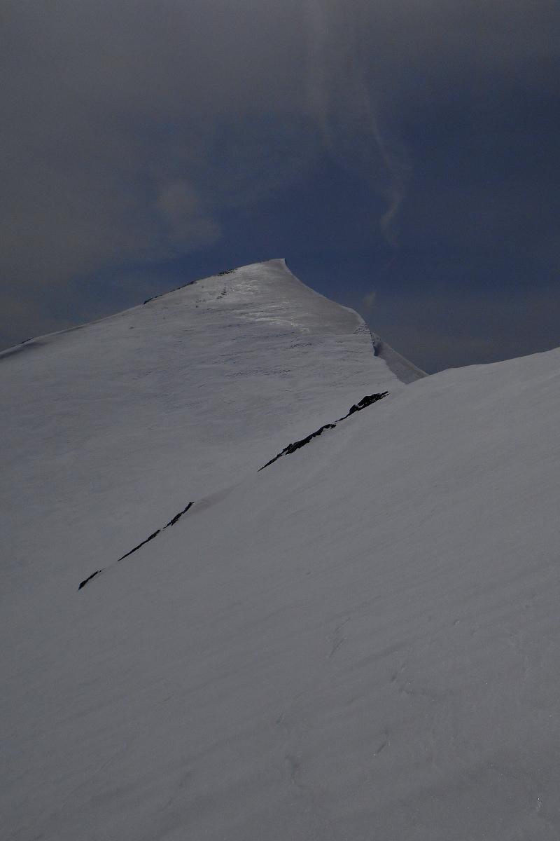 Monte Porrara, the summit