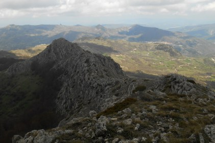 North ridge and foresummit