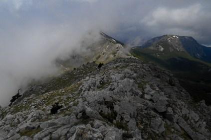 Towards Timpa del Pino di Michele