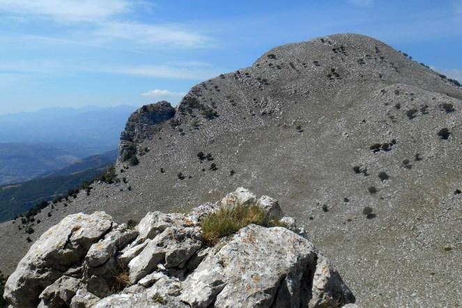 Monte Sellaro (from Monte Panno Bianco)