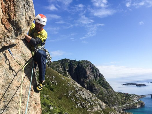 Rock Climbing - Lofoten Islands, Norway
