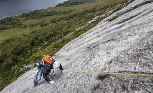 Rock Climbing - The Pause, Etive Slabs