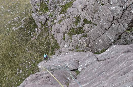 Rock Climbing - Jack The Ripper, Stac Pollaidh