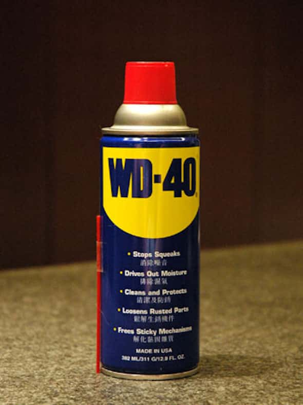 WD-40 in Can