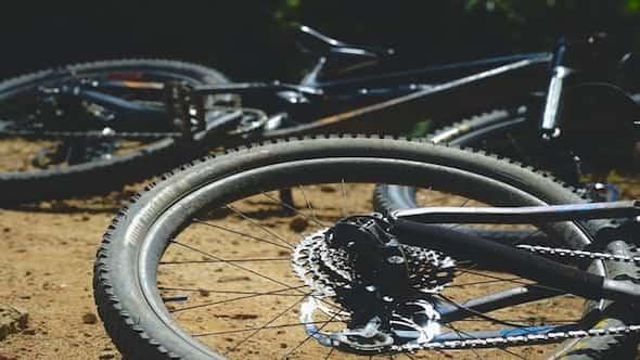 bike on ground