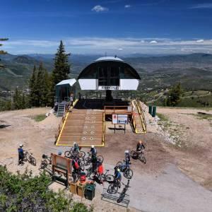 Mountain Bike Lift Service in Park City, Utah