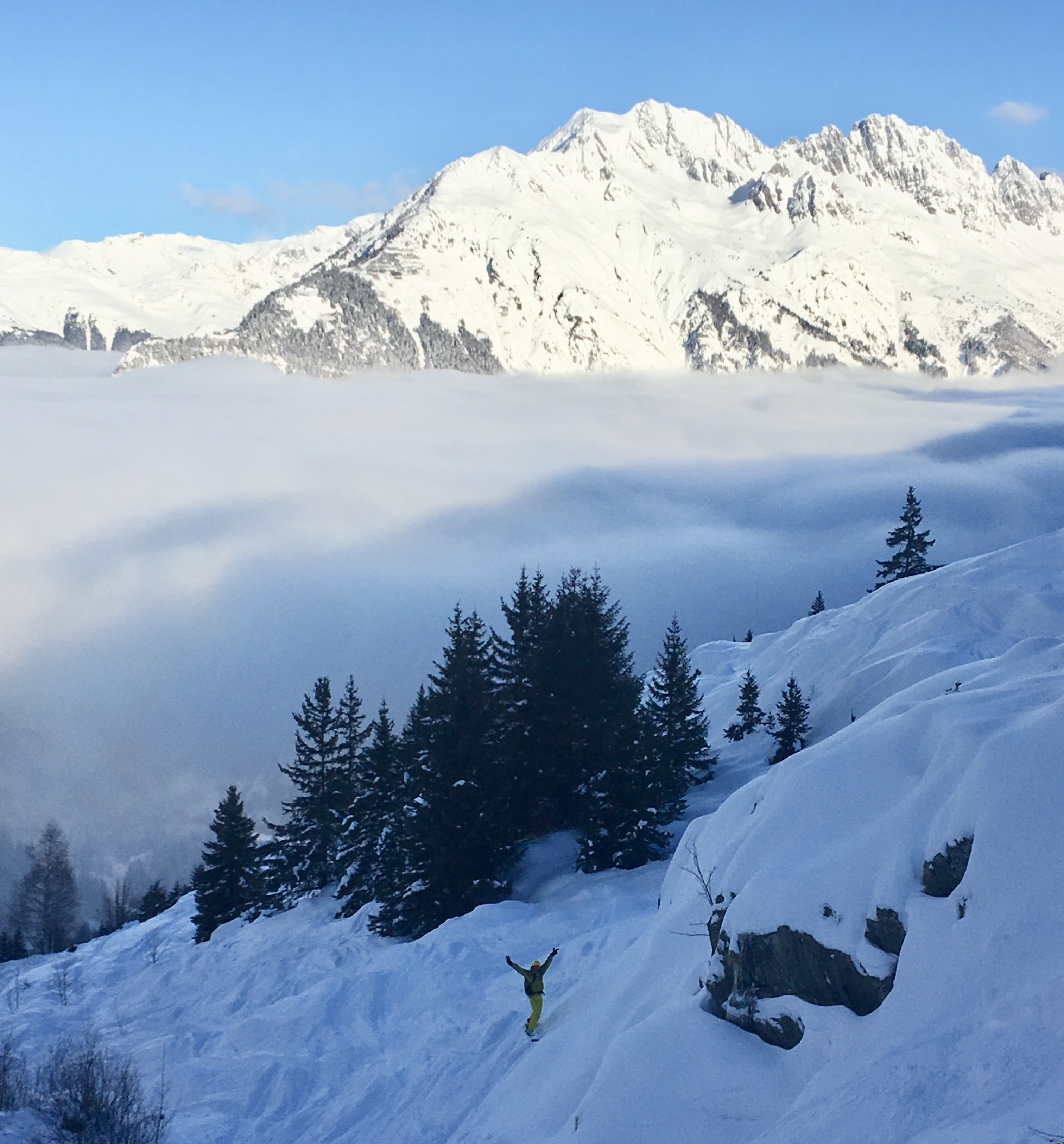 Inversion over Oz en Oisans