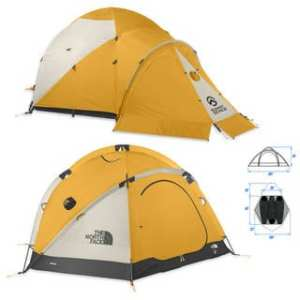 The North Face VE 25, an extraordinary expedition tent