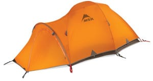 The MSR Fury. A spacious tent.