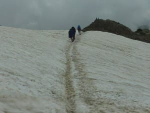 So much for mid-summer. The GR20 in July 2013