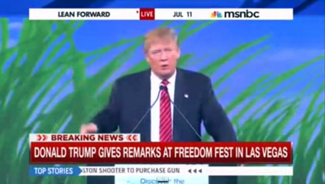 Donald Trump's July 11 FreedomFest Speech