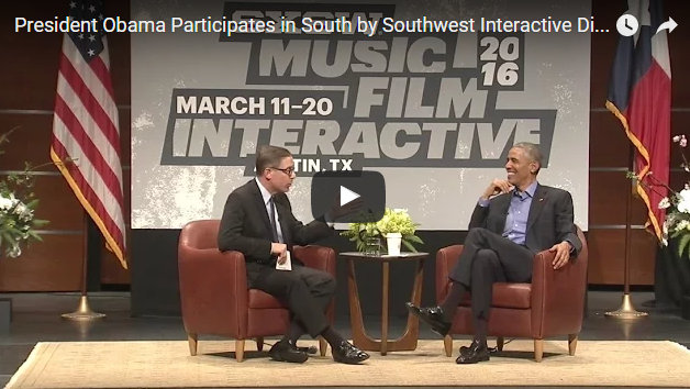 The President At South By Southwest