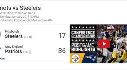 Atlanta & New England To Meet In Super Bowl 2017