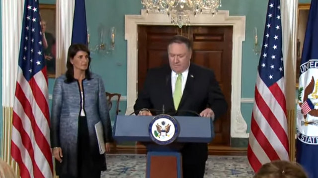 Remarks on the UN Human Rights Council From Mike Pompeo & Nikki Haley