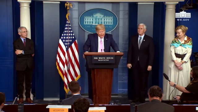 President Trump, Vice President Pence, and Members of the Coronavirus April 4th Update