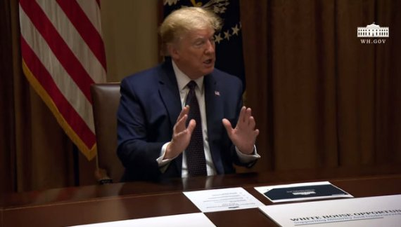 President Trump in Meeting on Opportunity Zones