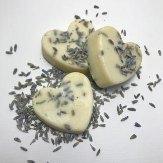 Lavender Vanilla Heart Bath Melts