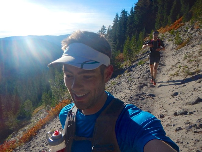 Running the timberline trail -