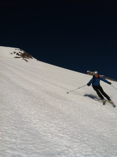 Hurray for steep skiing in January!