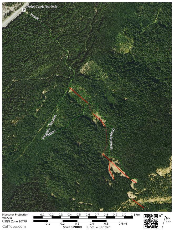 pocket creek map