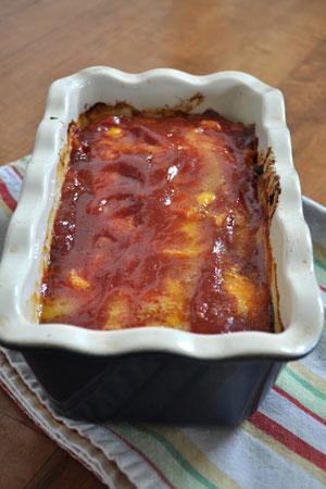 chicken-meatloaf-brown-sugar-ketchup-glaze